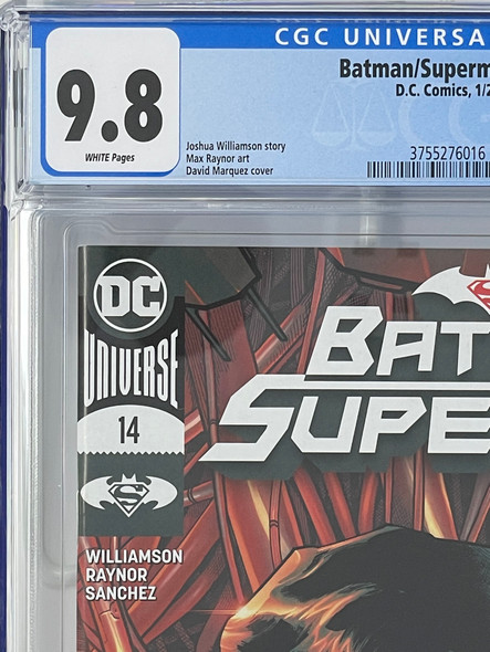 CGC 9.8 Batman/Superman #14
