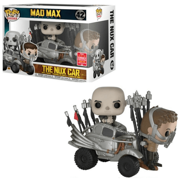 Pop! Rides #42 Mad Max Fury Road The Nux Car (2018 Summer Convention Exclusive)