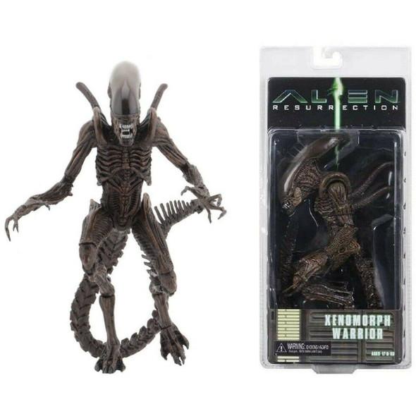 """NECA Aliens - 7"""" Scale Action Figure - Series 14 - Alien Resurrection Warrior"""