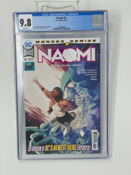 CGC 9.8 Naomi #4
