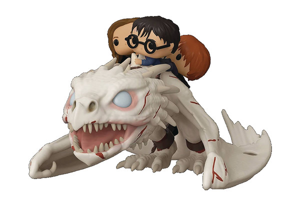 Pop! Rides: Harry Potter - Gringotts Dragon with Harry, Ron, and Hermione