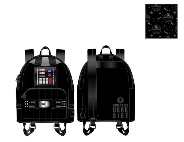 Loungefly Star Wars Darth Vader Light Up Cosplay Mini