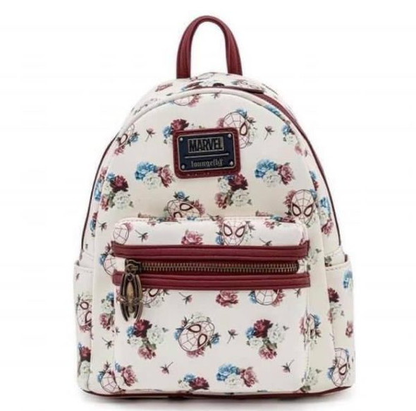 Loungefly Marvel Spiderman Floral Mini