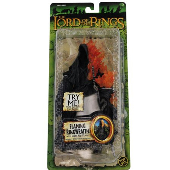 Lord Of The Rings Fellowship Of The Ring Collectors Flaming Ringwraith