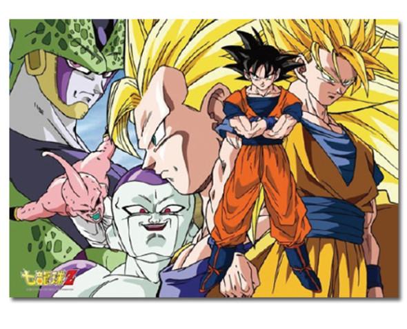 Great Eastern Dragon Ball Z Goku and Enemies Jigsaw Puzzle (520 Piece)