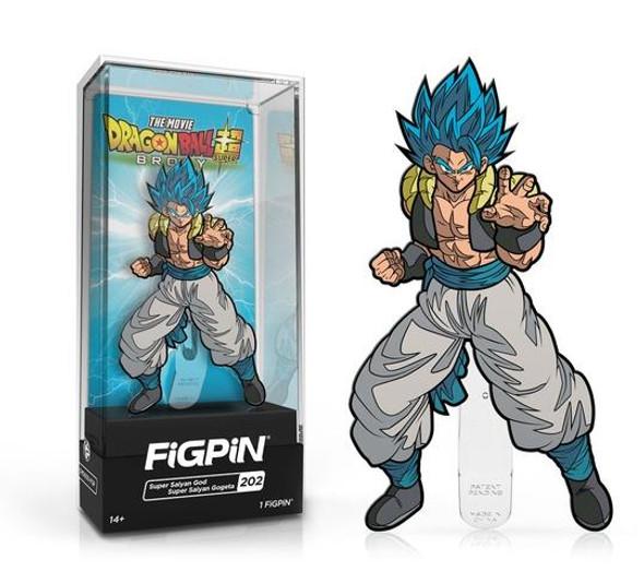 FiGPiN Dragon Ball Super: Broly - Super Saiyan God Super Saiyan Gogeta #202