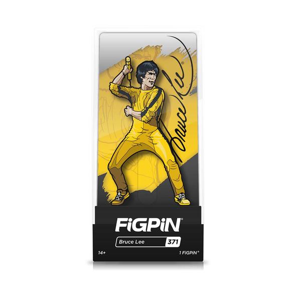FiGPiN Bruce Lee Yellow Jumpsuit Enamel Pin