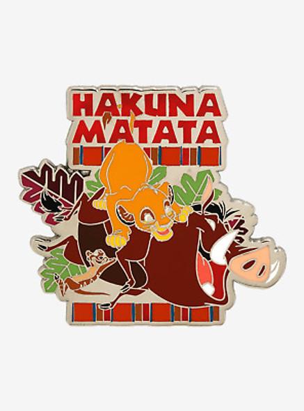 Lion King Special Limited Edition Hakuna Matata Pin VHS LE1500