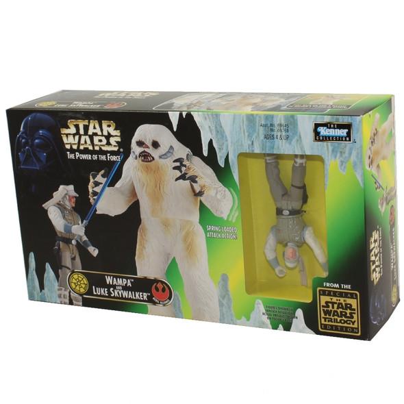 Star Wars - Power of the Force (POTF) - Action Figure - Luke w/Wampa