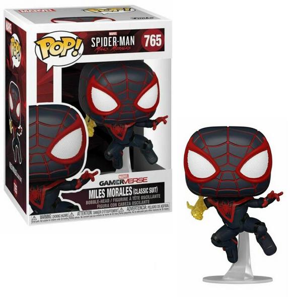 Pop! Games: Marvel's Spider-Man: Miles Morales- Miles Morales