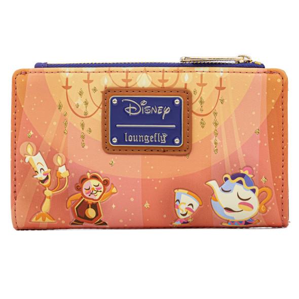 Loungefly Disney Beauty & Beast Ballroom Scene Wallet