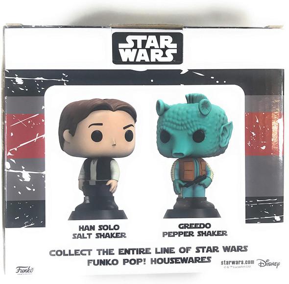 POP! Home: Star Wars - Han Solo & Greedo - Salt & Pepper Shakers