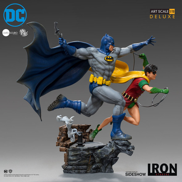 Iron Studios Batman And Robin Statue