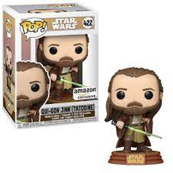 Pop! Star Wars: Adventures Across The Galaxy - Qui-Gon Jinn (Tatooine), Amazon Exclusive