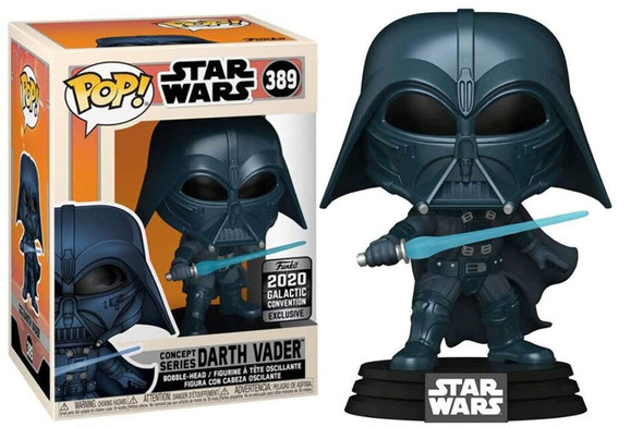 Pop! Star Wars Darth Vader #389 Concept Series Galactic Convention Exclusive