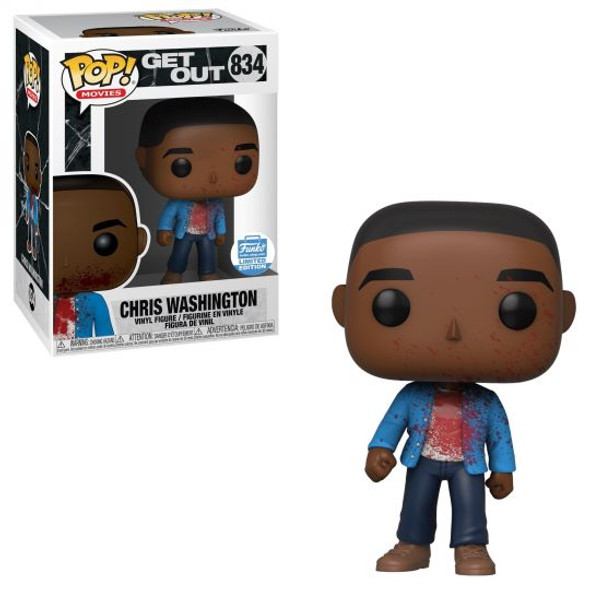 Pop! Horror Movies: Get Out Chris Washington (Bloody) Exclusive #834