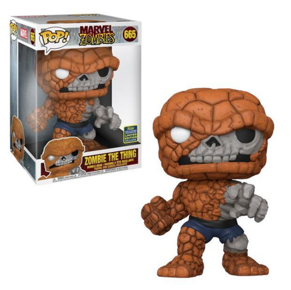Marvel POP Zombie Thing 665 Shared 10""