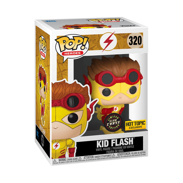 Dc Pop Kid Flash Hot Topic [CHASE] **damaged box**