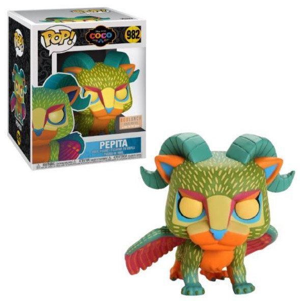 Pop! Coco Pepita Glow in The Dark 6 Inch Exclusive Figure GITD