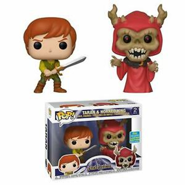 Funko Pop! Disney: Black Cauldron - Taran & Horned King 2 Pack, Summer Convention Amazon Exclusive