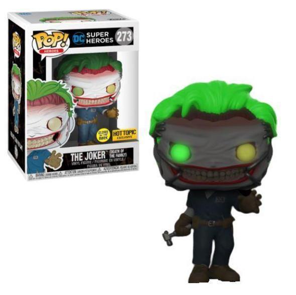 Pop! The Joker (Death of The Family) GITD Exclusive 273