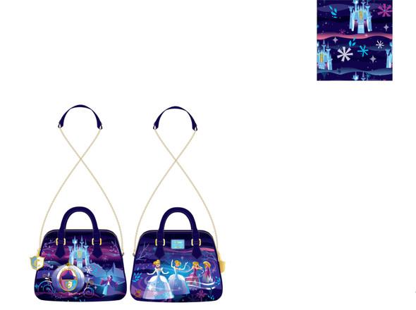 Loungefly Disney Cinderella Castle Series Chain Strap Crossbody