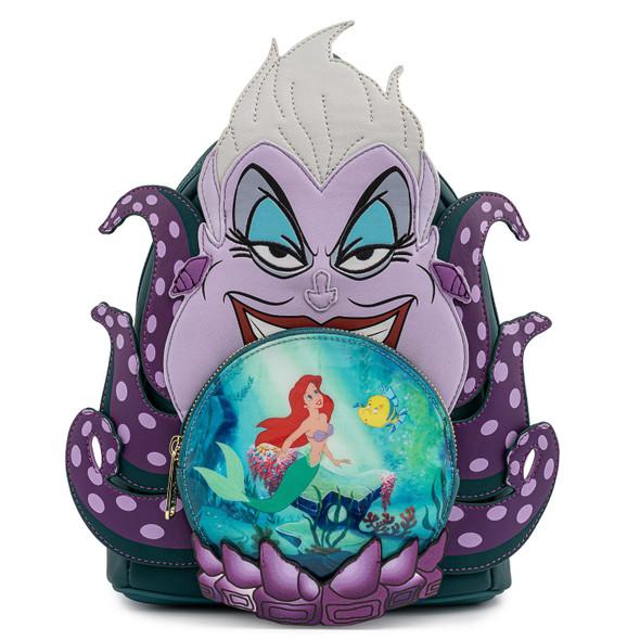Loungefly Disney Villians Scene Ursula Crystal Ball Mini