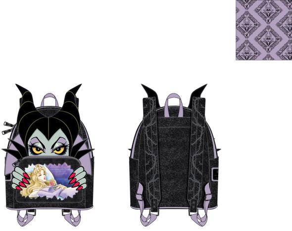 Loungefly Disney Villians Scene Maleficent Sleeping Beauty Mini