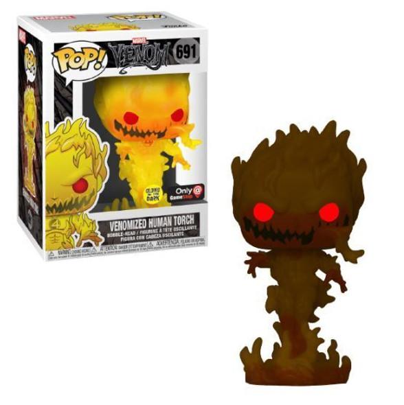 Pop! Marvel Venomized Human Torch