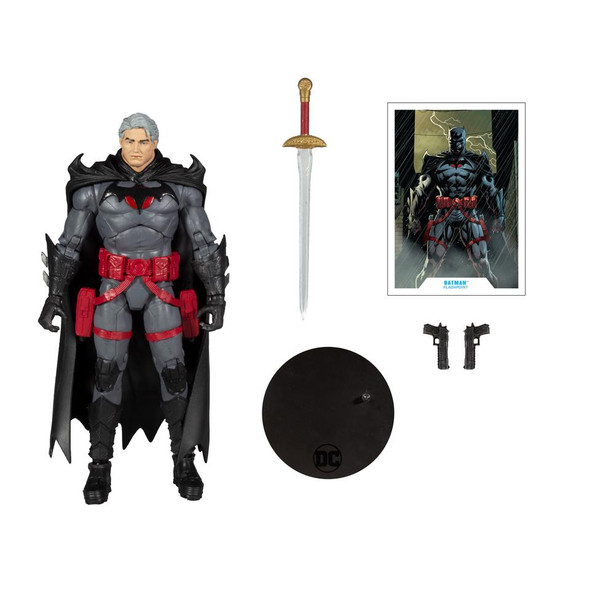"DC Multiverse Thomas Wayne Flashpoint Batman 7"" Action Figure"