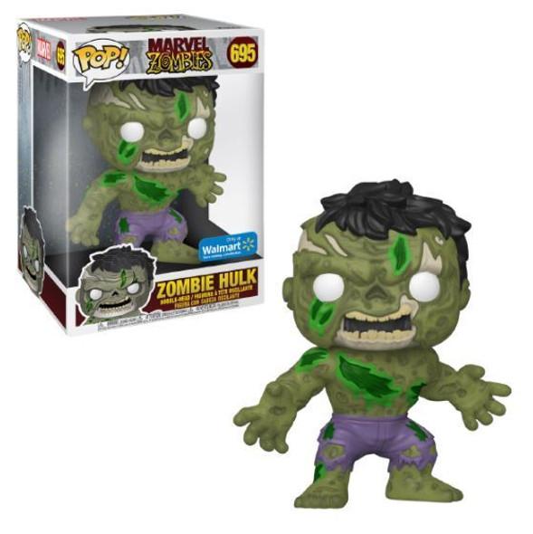 "Pop Marvel Zombie Hulk 10"" Walmart"