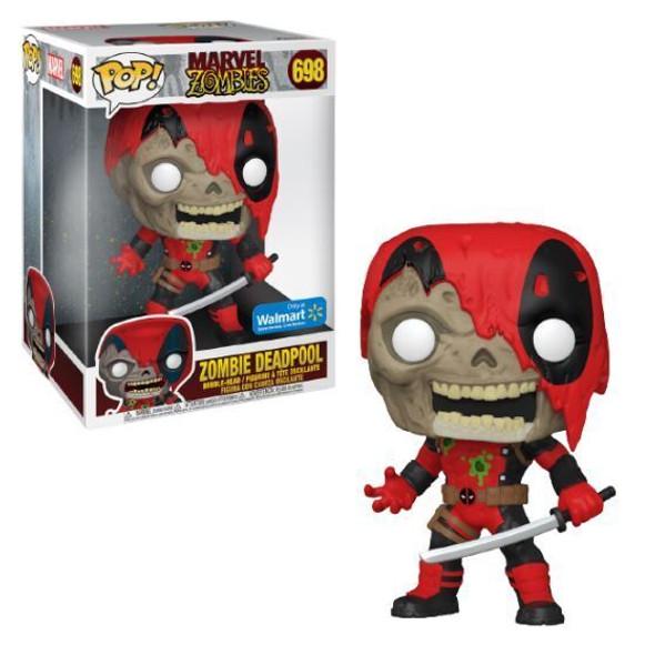 """Pop Zombie Deadpool 10"""" Walmart"""