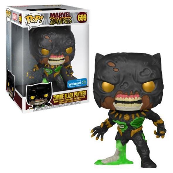 "Pop Zombie Black Panther 10"" Walmart"