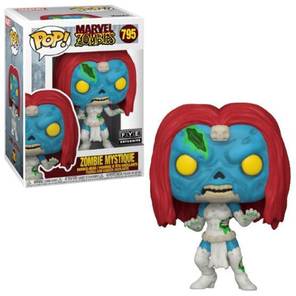 Marvel POP Zombie Mystique FYE 795