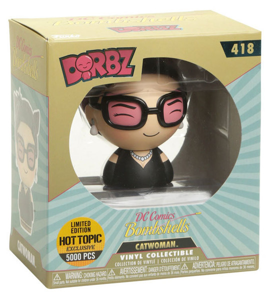 Dorbz DC Bombshells Catwoman Exclusive