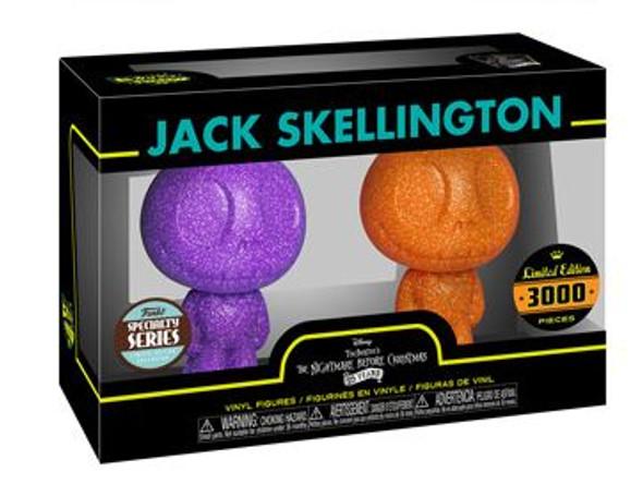 Hikari XS: Nightmare Before Christmas Jack Skellington Figures (2 Pack)