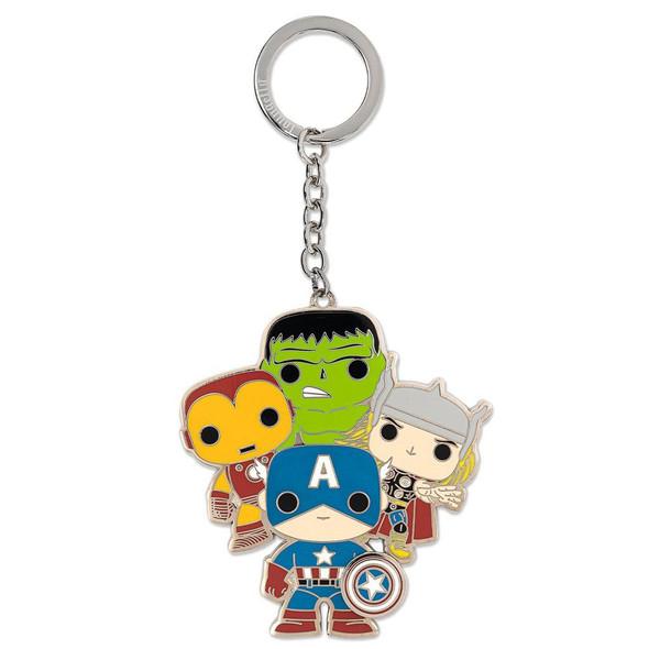 Pop! by Loungefly Classic Avengers 2 1/2-Inch Enamel Key Chain