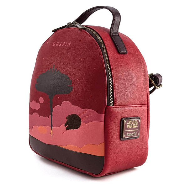Loungefly Star Wars Bespin Convertible Mini Backpack W/ Pouch