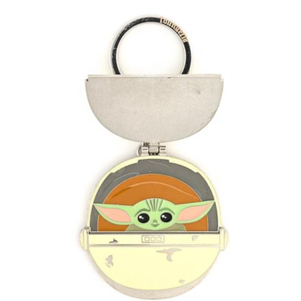 "Loungefly Star Wars Mandalorian The Child Precious Cargo 2.5"" Enamel Keychain"