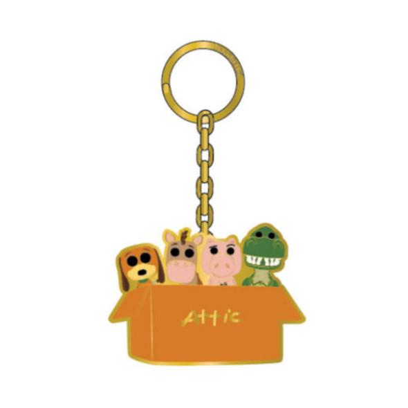 Pop By Loungefly Pixar Toy Story Attic Box Enamel Keychain