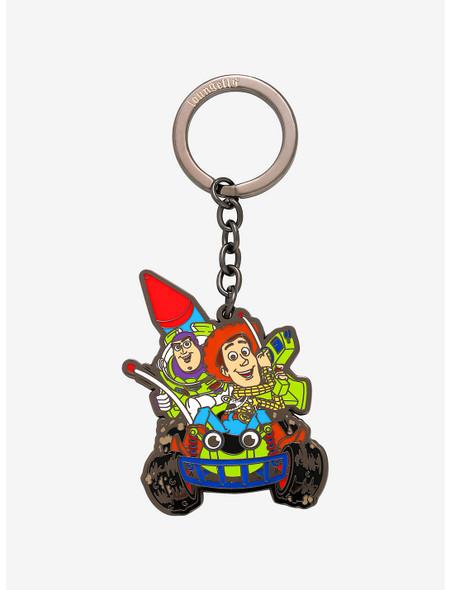 Loungefly Pixar Toy Story Buzz And Woody Enamel Keychain