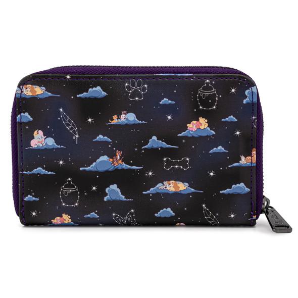 Loungefly Disney Classic Clouds AOP Zip Wallet