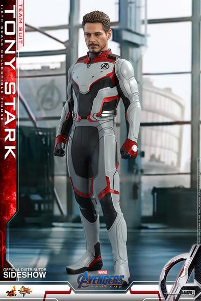 Marvel Tony Stark Team Suit Sixth Scale Figure