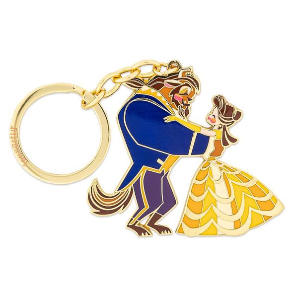 "Loungefly Disney Beauty and the Beast Ballroom 2.5"" Enamel Keychain"