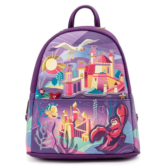 Loungefly Disney Ariel Castle Collection Mini