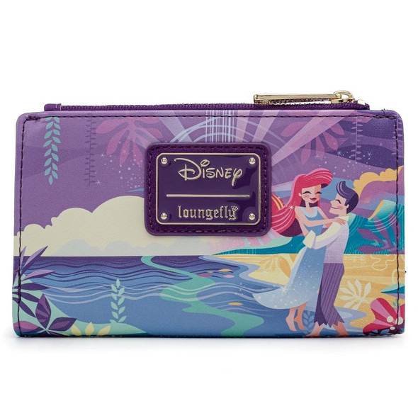 Loungefly Disney Ariel Castle Collection Flap Wallet