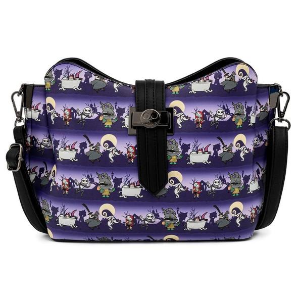 Loungefly Disney Nbc Halloween Line Crossbody Bag