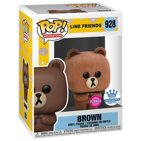 POP! Line Friends 928 - Brown Flocked