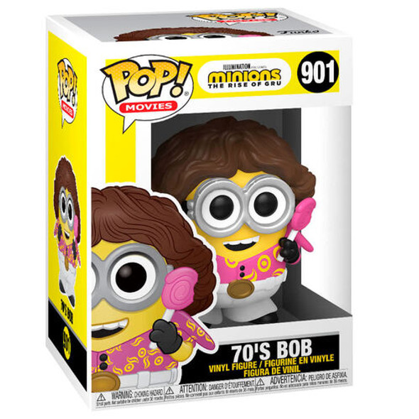 Pop! Movies: Minions 2 - 70's Bob