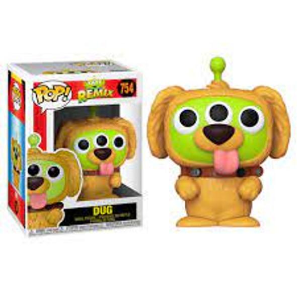 Pop! Disney: Pixar Alien Remix - Alien as Dug
